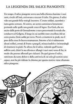 La Leggenda del Salice Piangente | Portale Bambini Crazy Cat Lady, Crazy Cats, Italian Language, Maria Montessori, Yoga For Kids, Barrette, Education, School, Reading