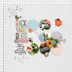 Backyard Bliss by EllenT using products from the Lilypad