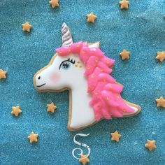 Here's what I did with the unicorn cutter from #annclarkcookiecutters! See the…
