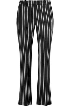 Givenchy - Straight-leg Pants In Black And White Striped Wool-jacquard - SALE20 at Checkout for an extra 20% off