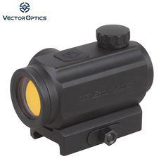 Vector Optics Hunting 1x 20mm Red Dot Sight Scope with 21mm QD Weaver Mount Base fit AK 47 AK74 5.56mm Real Rifles 12 ga Shotgun