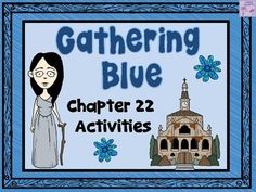 This product contains two activities that can be completed after reading chapter 22 in Gathering Blue.  The first activity addresses the literary technique of foreshadowing and revolves around Jamison.  The second activity focuses on the secrets that characters have been keeping.  **Note:  This product can be purchased as part of a money saving Gathering Blue Bundle-22 Products In All!**If you like this product, you may also like:Gathering Blue Task CardsNon Fiction Text Features and…