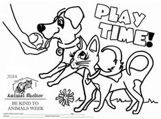 coloring pages animal rescue - photo#24