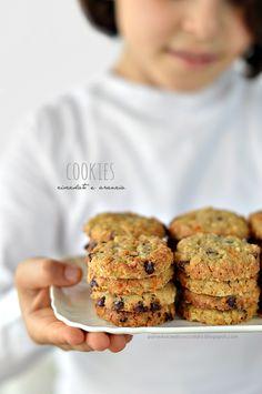 PANEDOLCEALCIOCCOLATO: Cookies cioccolato e arancia e la vita che vola via!