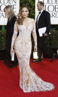 Jennifer Lopez- Golden Globes 2013