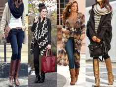 street styles ideas long cardigans, How to wear long cardigans http://www.justtrendygirls.com/how-to-wear-long-cardigans/