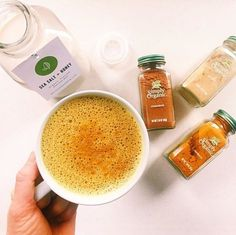 I drink a turmeric almond milk latte, a lot. At least once a day if not more, so I am surprised that I have never put the recipe on here. Whenever I post about it on my instagram or stories, many of you ask for the recipe, what it tastes like, what are the benefits, if I like it (??), etc. So