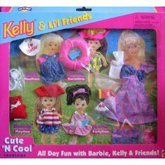 Barbie KELLY & Li'l Friends Cute 'N Cool Fashions, All Day Fun