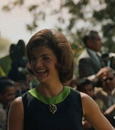 Jackie Kennedy in India, March 1962.