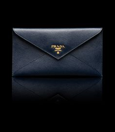 748ade2be55995 Document Holder Wallet, Baltic Blue. Prada Wallet, Clutch Wallet, Document