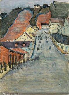 Grüner Berg, 1919, Marianne von Werefkin