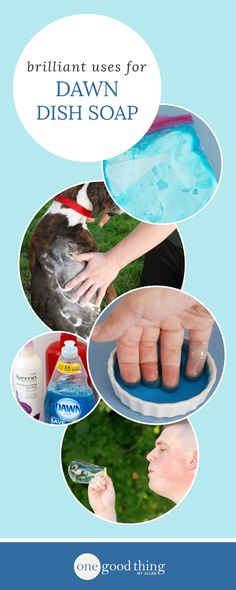 28 Ways To Use Dawn Dish Soap That Will Make Your Life Easier | One Good Thing By Jillee | Bloglovin'