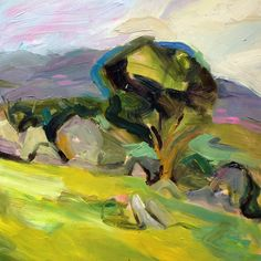 Richard Claremont #Art and #Inspiration - Sunny Afternoon at Bathurst - #Landscapes #Oil #Paintings for Sale