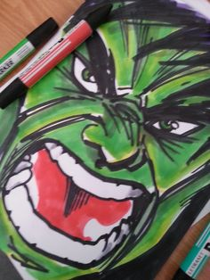 Angry #Hulk is #Angry ! #portrait #traditionalart #promarkers  #green #fanart Have you heard the news? I've opened a new Patreon Account! If you like my artworks and you want to support me, check this link out! —-> www.patreon.com/dados?ty=h