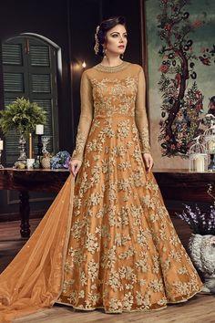 B4UFashion Present  Orange Partywear Nylon Net Anarkali Salwar Suit For Order 📲9033763613 📲07572803833   🌍🌍Worldwide Delivery🌍🌍  #anarkalisuit #anarkali #Dress #salwaarsuit #lehengacholi #lehenga #saree #indianfashion #indianwear #indianwedding #bridalfashion #bollywoodstyle #ethincfashion #fashion #sareelove #indianfashion #weddinginspiration #beautifulbride #wedding #shopping #b4ufashion #indianfashionblogger