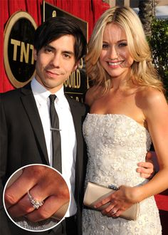 Katrina Bowden (who plays Cerie on 30 Rock) is engaged! Check out her engagement ring.