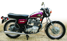 1972 BSA A75 Rocket 3 750, featured in the November 2006 issue of Rider magazine.