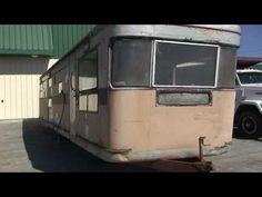 VERY OLD ANTIQUE SPARTAN TRAVEL TRAILER FROM THE 50'S IN WEST VIRGINIA