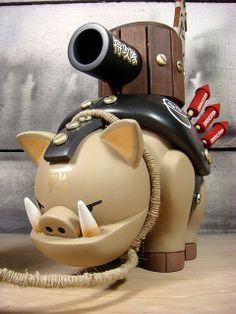 """The Warhog"" | Artist: Huck Gee"