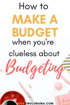 How to Make a Budget When You're Clueless About Budgeting – Finance tips, saving money, budgeting planner Making A Budget, Create A Budget, Making Ideas, Budget Help, Planning Budget, Financial Planning, Financial Budget, Financial Literacy, Budgeting Finances