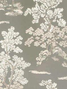 DecoratorsBest - Detail1 - GPJ BW45012-1 - ORIENTAL TREE SILVER/PEARL - Wallpaper - DecoratorsBest $137.20