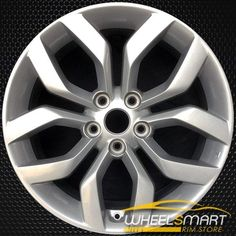 Replacement 5 Spokes Flat Silver Textured Factory Alloy Wheel Fits Honda Accord Coupe//Sedan