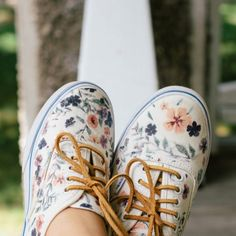 Iron on your own image onto your white canvas shoes! So simple and perfect for summer!