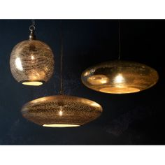 Zenza Filisky Copper Oval Pendant Ceiling Light