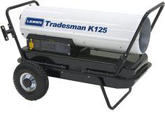L.B. White CP125CK Tradesman K125 Portable Forced Air Kerosene Heater, 125,000 Btuh Best Space Heater, Kerosene Heater, Baby Strollers, Home Improvement, Children, Baby Prams, Young Children, Boys, Kids