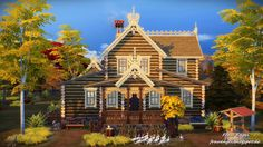 Sims 4 CC's - The Best: Russian House by Frau Engel