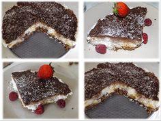 Moje Tělo - Moje Volba: Kokosovo-banánový nepečený dort