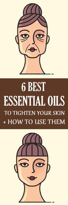 Here are the best essential oils against saggy skin and wrinkles: