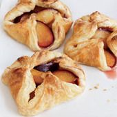 For her elegant interpretation of fruit danish, Grace Parisi tosses wedges of big purple plums with sugar and cardamom, then pinches them into neat little puff pastry pockets and bakes them. Ultimate Summer Fruit Recipes More Fruit Desserts Plum Recipes, Fruit Recipes, Wine Recipes, Dessert Recipes, Tea Recipes, Brunch Recipes, Summer Recipes, Fun Baking Recipes, Snacks