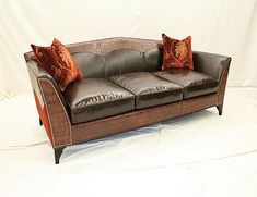 Old Hickory Tannery Sofa available at Hickory Park Furniture Galleries Western Furniture, Country Furniture, Parks Furniture, Furniture Decor, Old Hickory Tannery, Sofa Sale, Upholstered Furniture, Discount Furniture, Love Seat