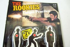 Vintage 1975 THE ROOKIES Target Practice Toy Set - TV Show Kate Jackson NEW in Original Packaging Please Repinit and Thanks