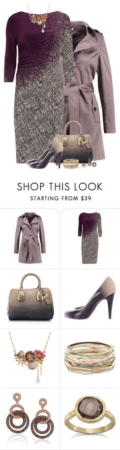 """""""Sin título #1248"""" by montse-gallardo ❤ liked on Polyvore featuring Gina Bacconi, Prada, Chanel, Les Néréides, Kendra Scott and Suzy Levian"""