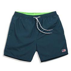 2016 Summer men's liner Board shorts navy beach surfing shorts men swimming trunks mens swimwear swim short swimsuit Elastic gym