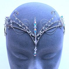 """thehighborneidentity: """" fairy—blood: """" ✧ """" """" Offbeat Bride, Circlet, Fantasy Jewelry, Tiaras And Crowns, Hair Jewelry, Jewellery, Jewelry Accessories, Jewelry Making, Bling"""