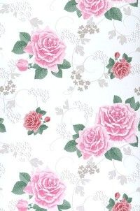 Rose wallpaper (considering for foyer)