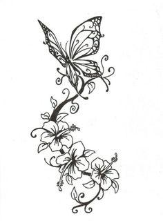 Sommerfugl blomster
