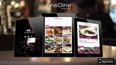 FineDine Digital Tablet Menu for Restaurants, Bars & Cafes