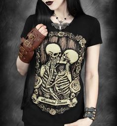 Camiseta Chica MC Immortal Lovers