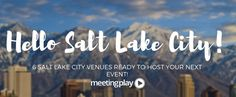 #EventProfs - What city was ranked as the friendliest city, highest in traveler satisfaction, business success, cleanest downtown, and has a plethora of amazing and unique venues ready to host your next event? Meet Salt Lake City - and six venues ready for your events including Salt Palace Convention Center, The Falls Event Center, The Grand Hall at the Gateway Red Butte Garden and This Is The Place Heritage Park.