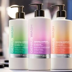 Fashion week favorite all new Redken Genius wash. Cosmetic Labels, Cosmetic Packaging, Beauty Packaging, Bottle Packaging, Soap Packaging, Graphisches Design, Label Design, Best Salon, Cosmetic Design