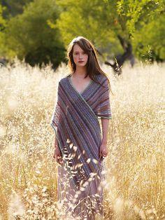 Unwind wrap - pattern by Kaffe Fassett - free for Rowan Members