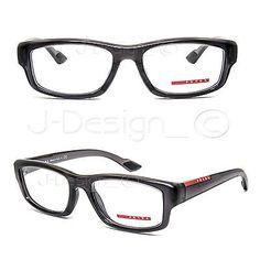 b03653bbc3 Prada VPS02E NAR-1O1 Eyeglasses Rx Eyewear - Made in Italy - New Authentic