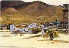 South African Air force - P51D (F51D) Mustang - Korea (1950-1953)