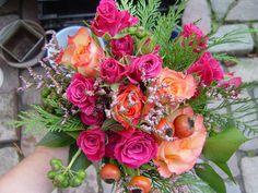 rosa - orangenes Glück