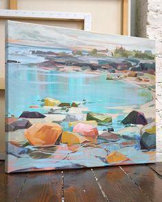 Art And Illustration, Landscape Art, Landscape Paintings, Painting Inspiration, Art Inspo, Kunst Inspo, Your Paintings, Painting Techniques, Art Pictures