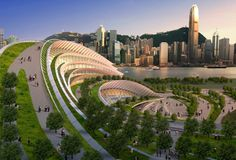 The amazing West Kowloon Terminus. #amazing #photography #architecture #3d_wallpaper. find more:- http://www.alliswall.com/